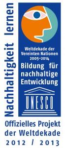 Logo_UN-Dekade_Offizielles Projekt_2012_2013_rgb